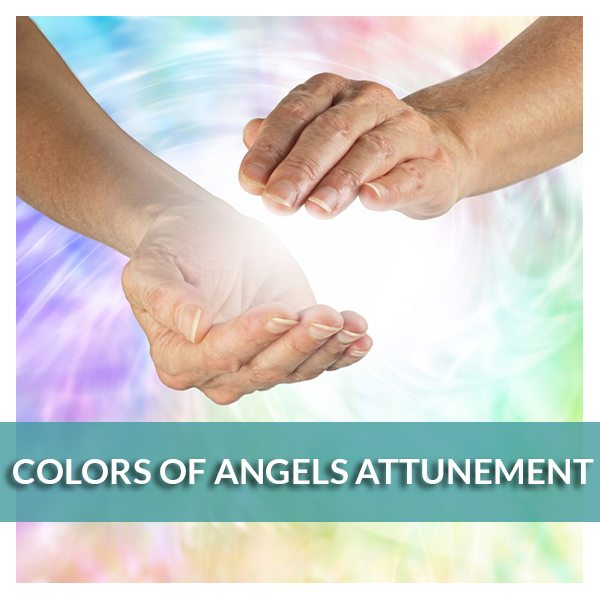 Colors of Angels Attunement - Reiki Fur Babies